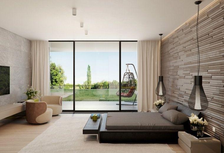 dormitorio estilo minimalista moderno diseno beige ideas | Furniture ...