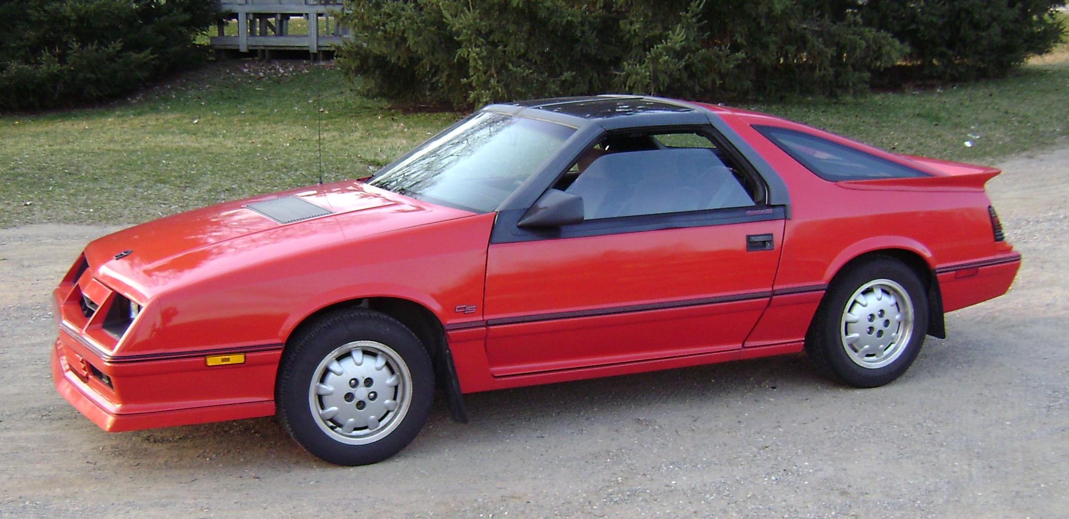 1986 Daytona Turbo Z CS Carroll Shelby with T roof