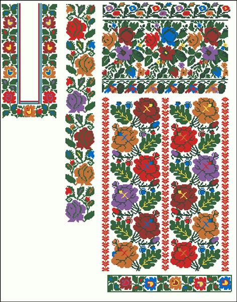 схема вишиванки для хлопчика - Поиск в Google Зразки Вишивки 455e75c149369