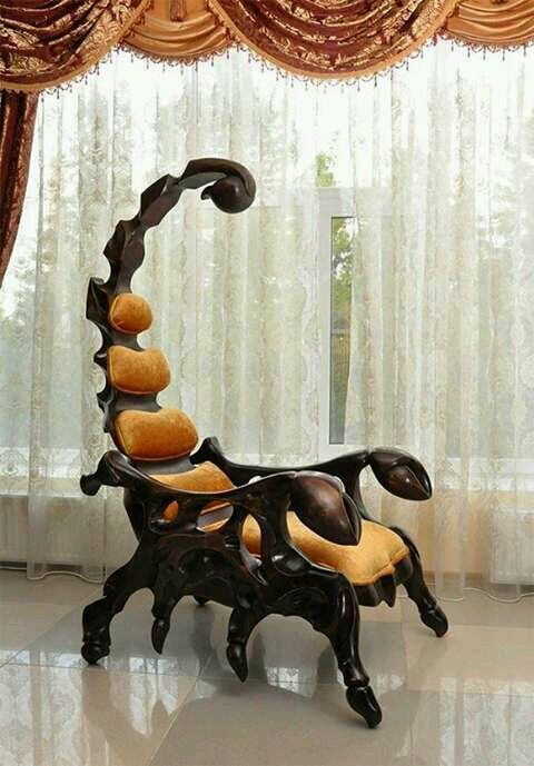 Interiors · Funky ChairsWelding IdeasWooden ...