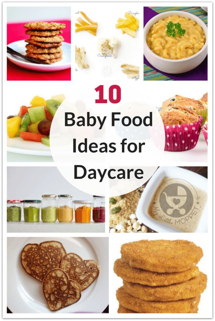 Food Here Are 10 Healthy Baby Ideas