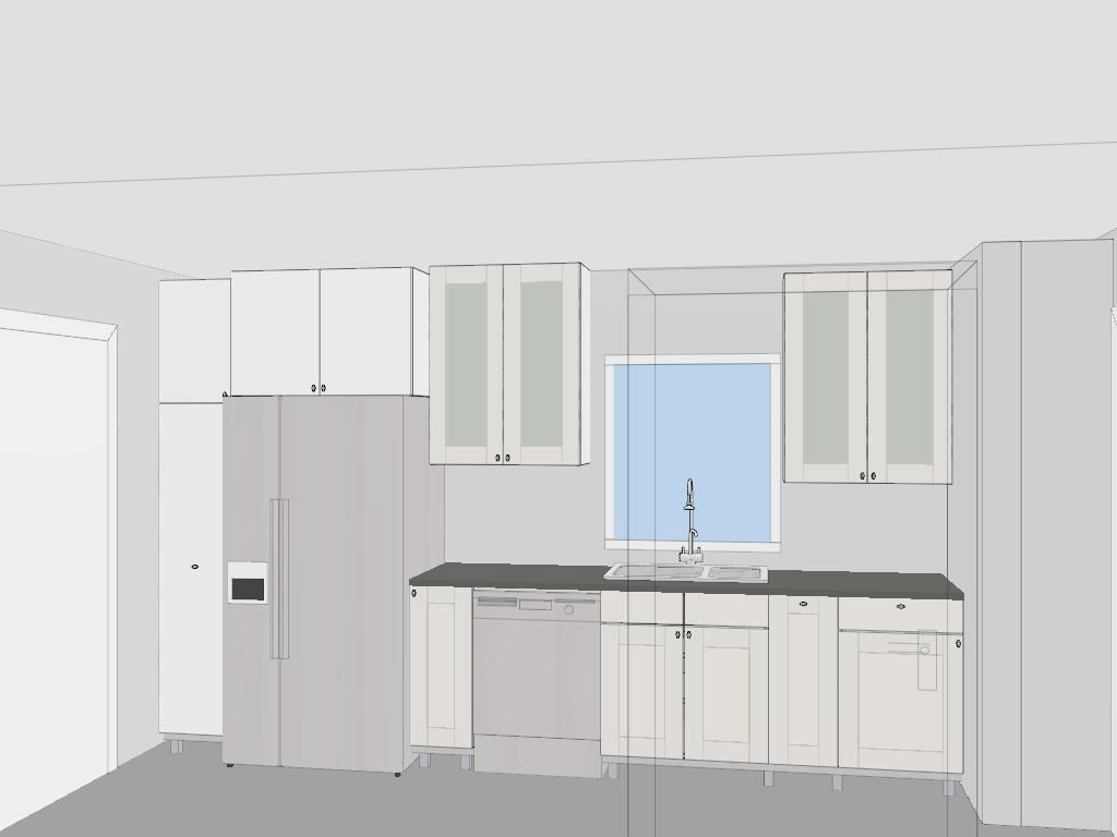 Small Kitchen Floor Plans Galley
