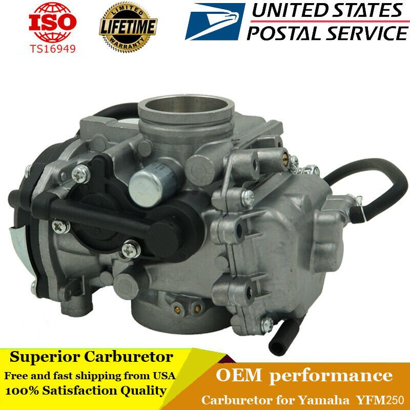 Sponsored Ebay Carburetor For Yamaha Bear Tracker 250 Yfm