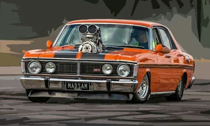 Falcon Xy Gt Australian Muscle Cars Hot Rods Cars Muscle