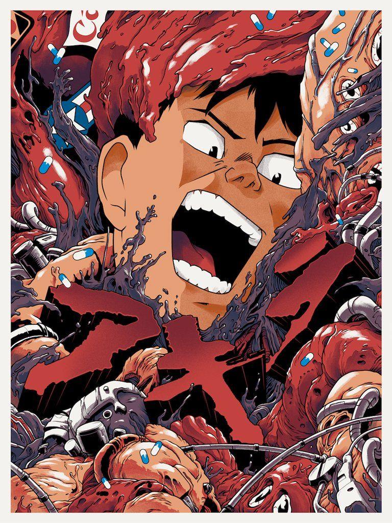 Akira Art Print By Joshua Budich X Spoke Art Akira Anime Akira Manga Akira