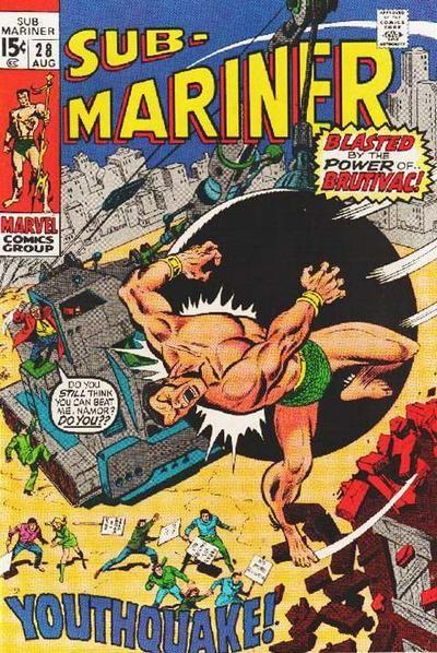 sub marinor | Sub-Mariner Vol 1 28 - Marvel Comics Database