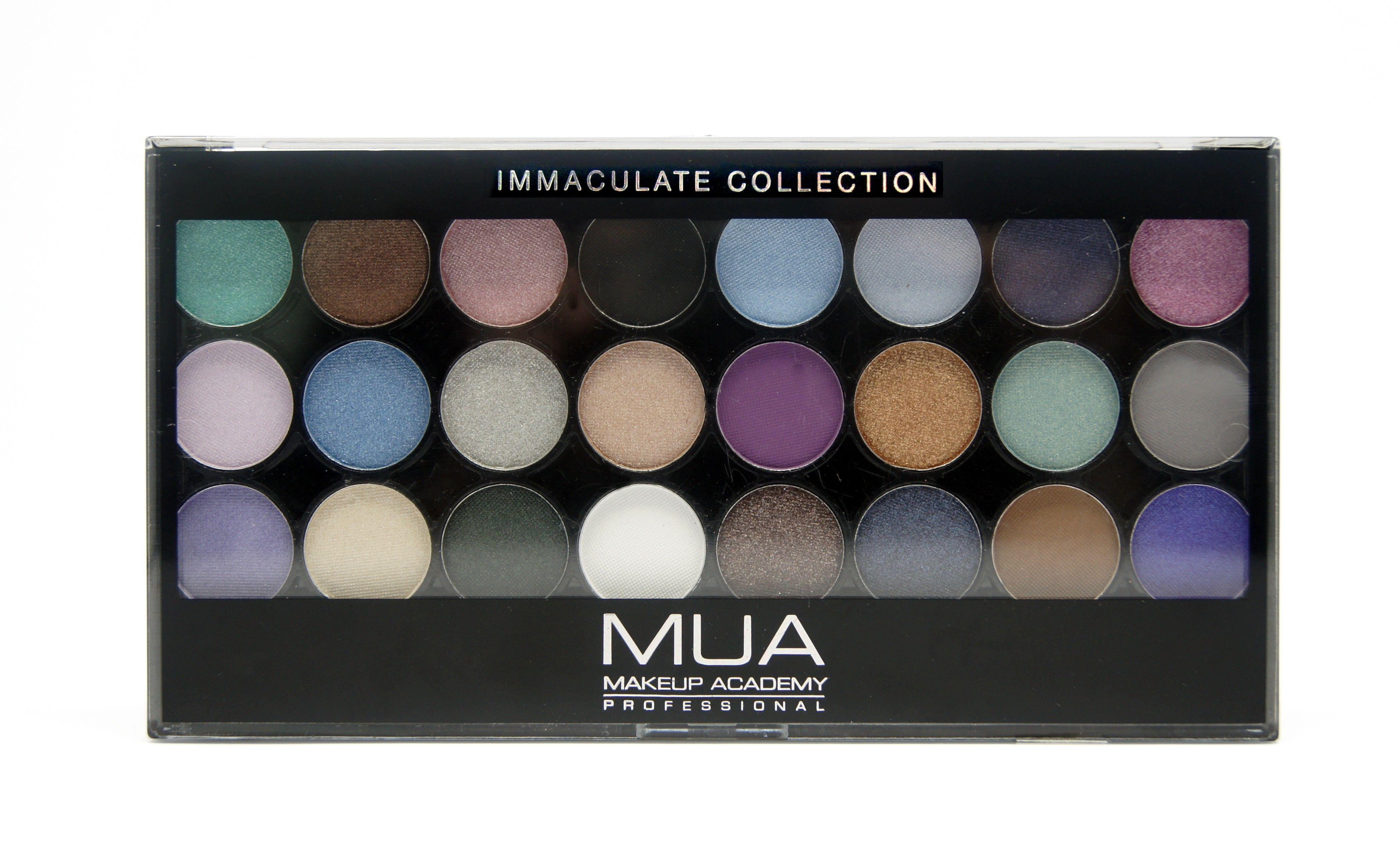 24 Shade Immaculate Collection Palette MUA Make up