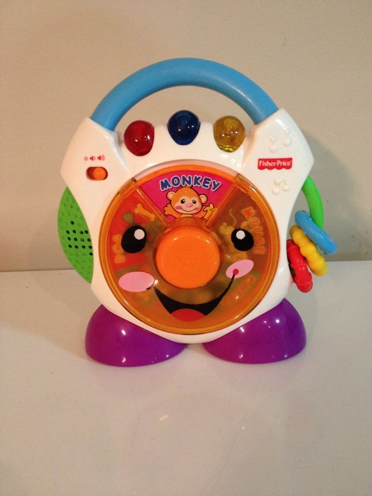 Fisher Price Laugh Learn Nursery Rhymes Cd Player View How Works B4 N