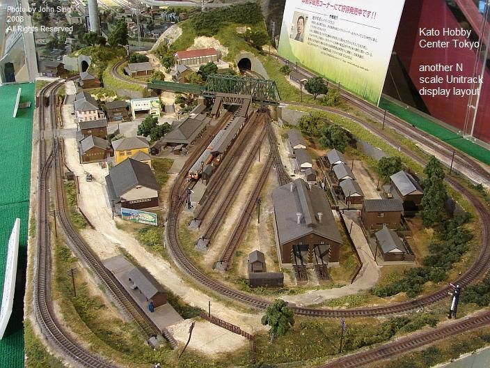kato tokyo n scale layout