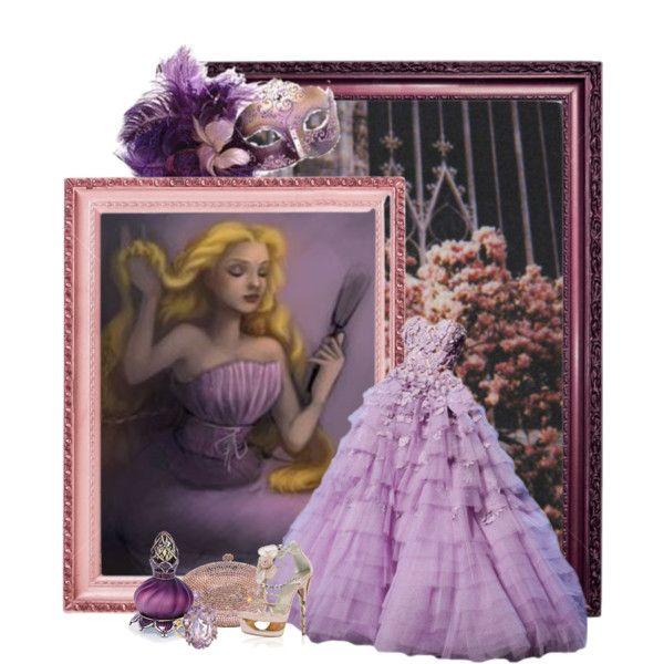 """Disney Style : Rapunzel"" by missm26 on Polyvore"