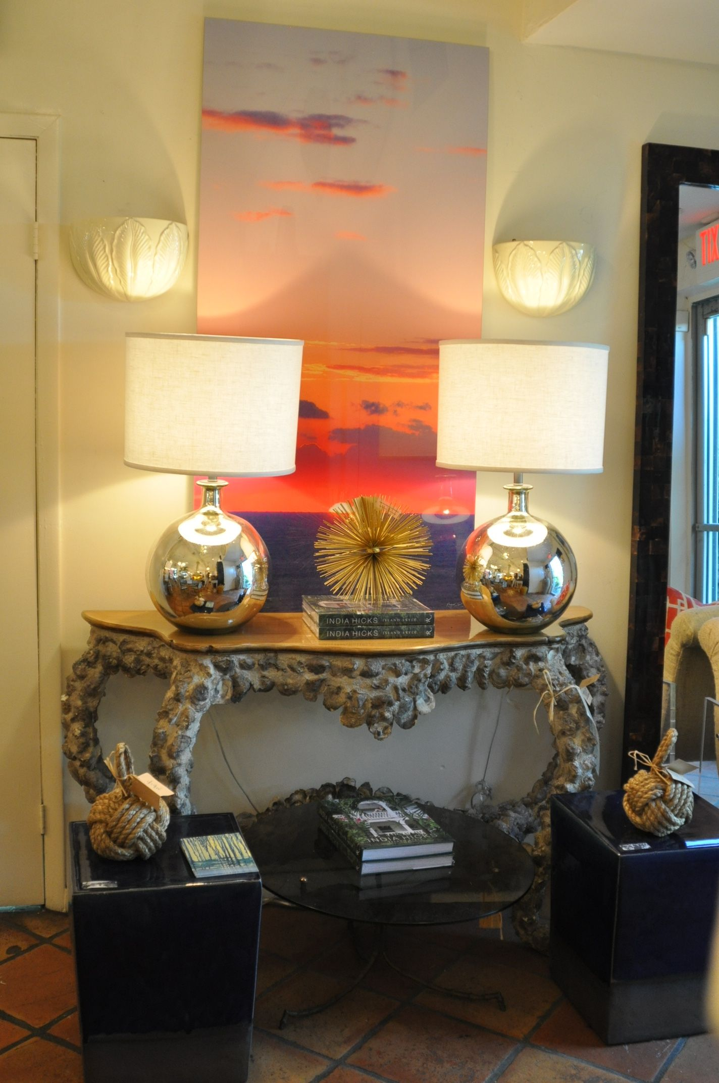 PalmBeach #Mecox #interiordesign #MecoxGardens #furniture #shopping on home library desk, home nail art, home office chair, home hair dryers, home decorators vanity, home living room furniture, home office desk, home kitchen island,