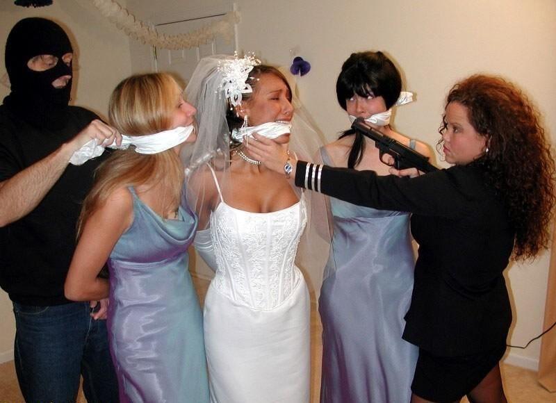 Belles Ligotees Nowheretohide14 Here Comes The Bride