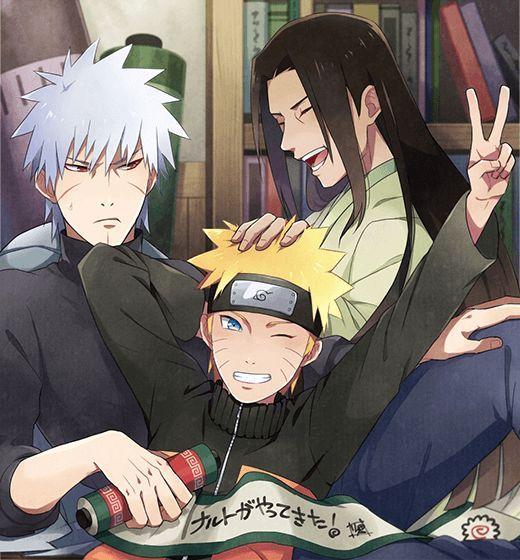 Tobirama, Hashirama And Naruto | Anime | Naruto, Naruto