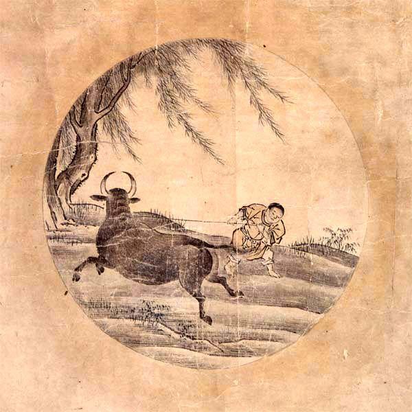 4) Das Fangen des Ochsen http://de.wikipedia.org/wiki/Der_Ochse_und_sein_Hirte