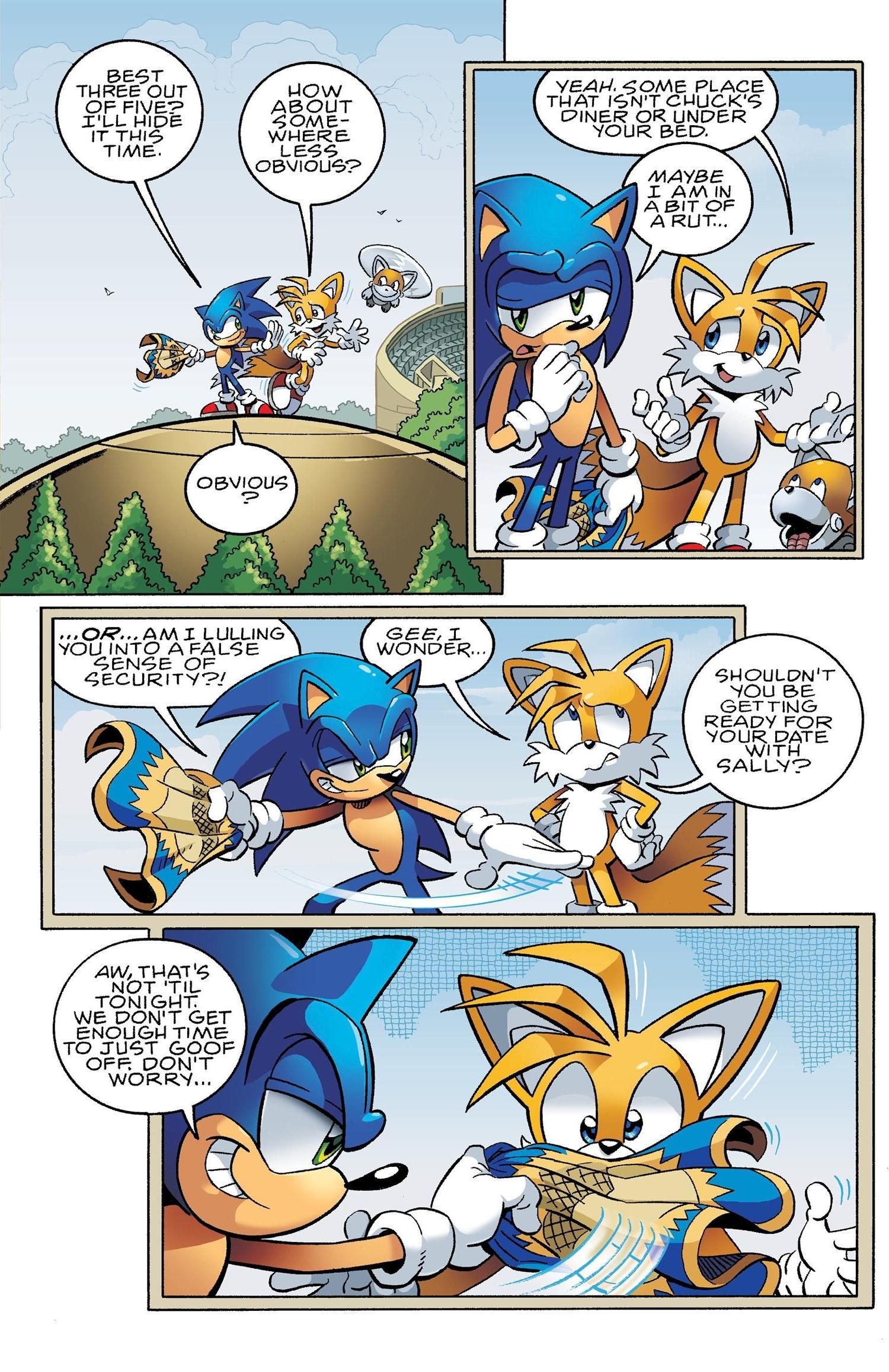 and comics Sonic tails
