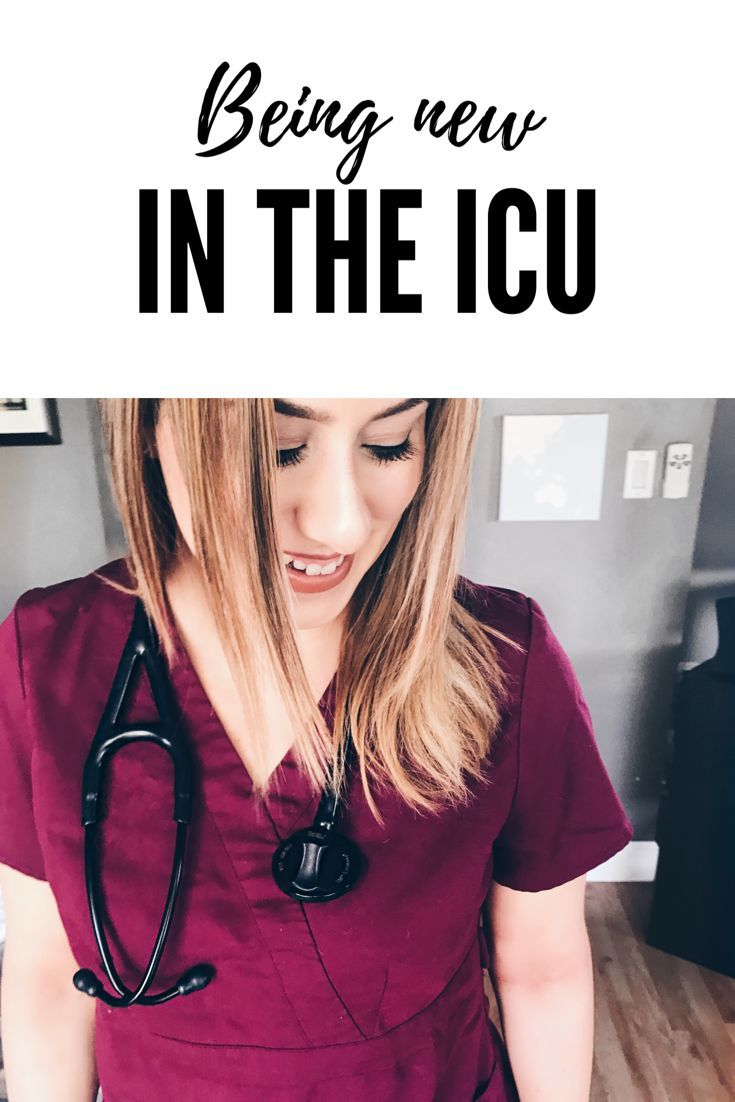 Being new in the intensive care unit icu some advice