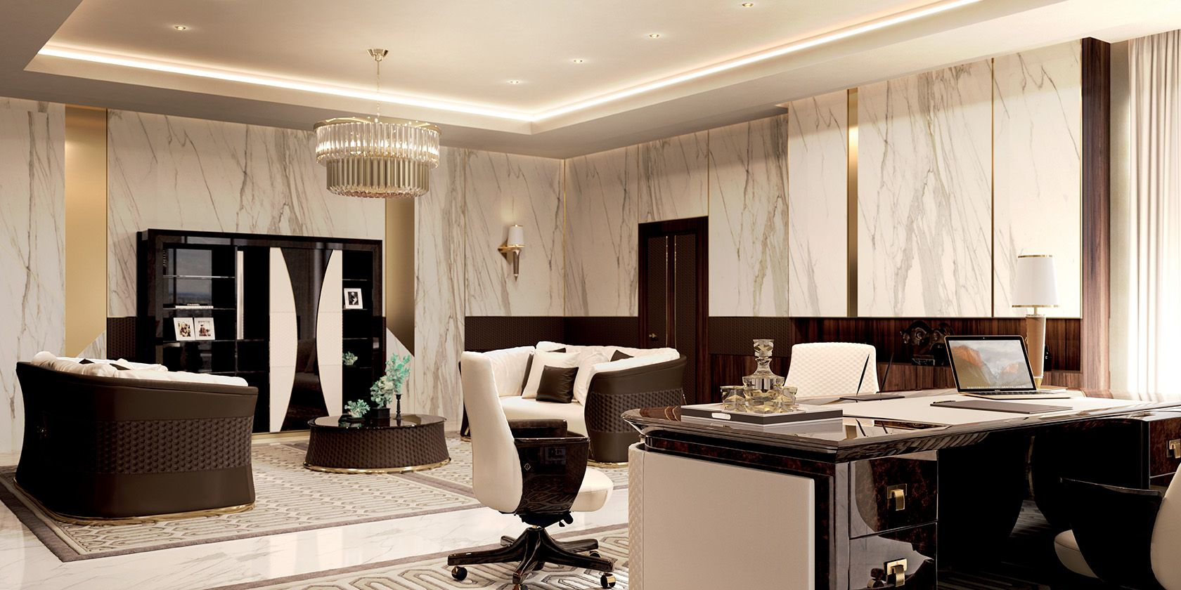 Luxury Offices Interior Design Labeled In Corporate Office