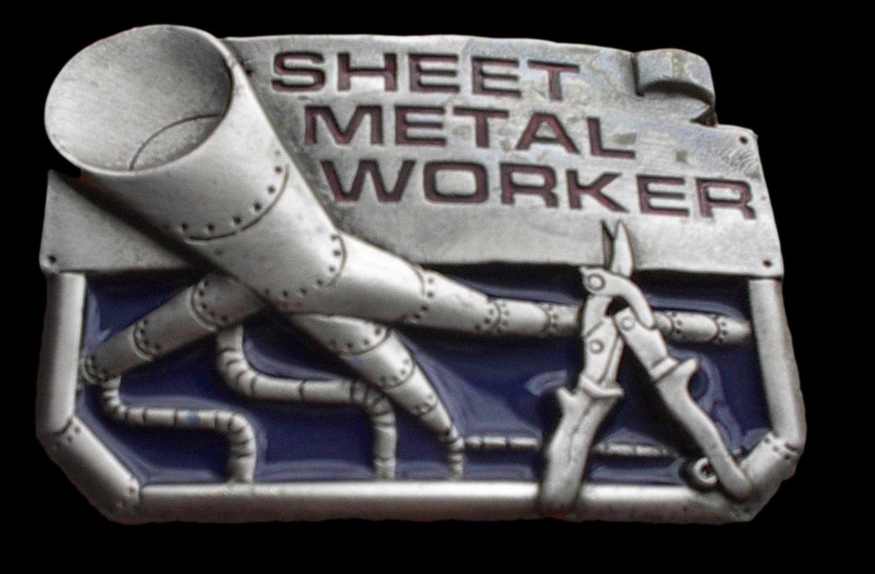 SHEET METAL WORKER BELT BUCKLE TOOLS WORK TRADES PROFESSION SIGNS BELTS BUCKLES #sheetmetalworker #sheetmetal #sheetmetalbeltbuckle #sheetmetalworkerbeltbuckle #beltbuckle #metalworker