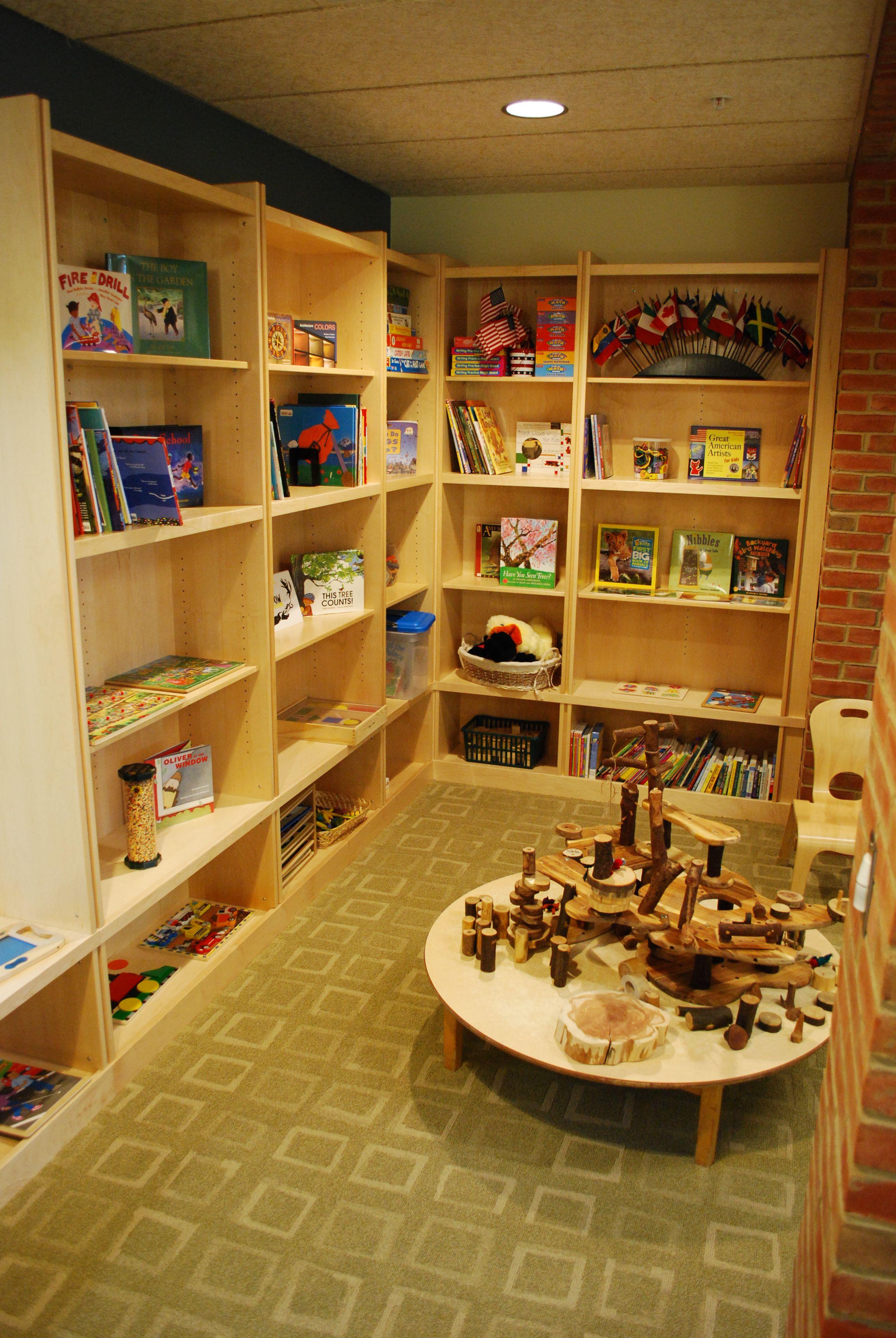Children 39 s library reggio kindergarten for Raumgestaltung reggio