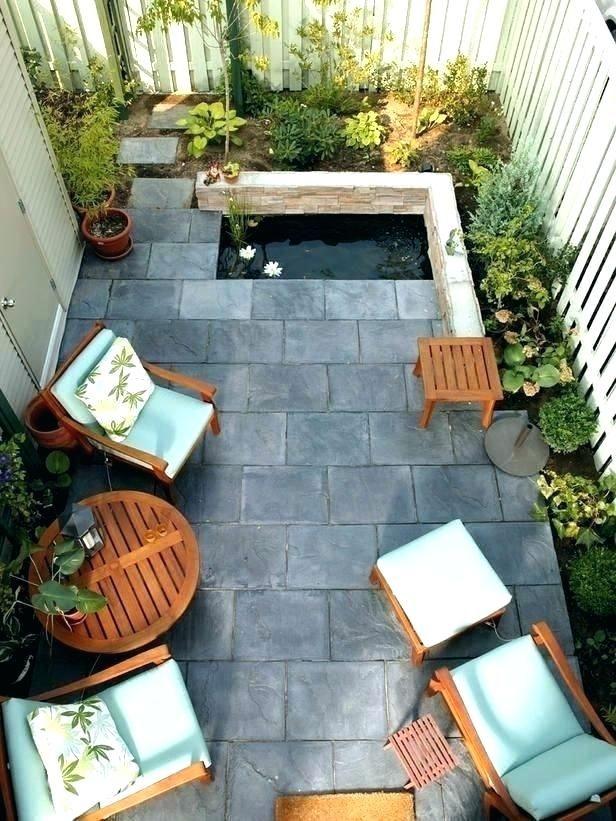 small backyard patio