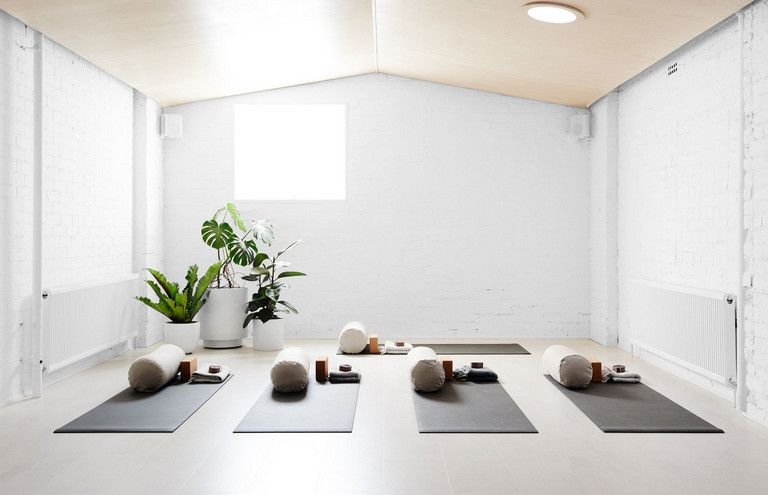 home yoga studio design ideas. You could either begin at a nearby gym or yoga studio  alternatively usage 90 Fun Cozy Yoga Studio Design Ideas design
