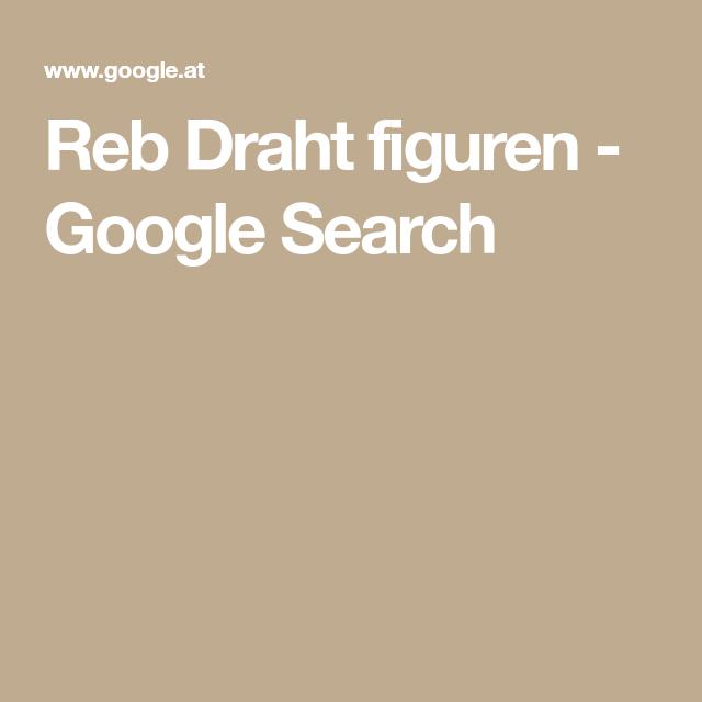 Reb Draht figuren - Google Search | string art. rob | Pinterest ...