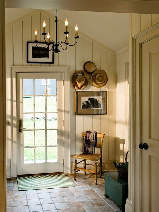 Want To Transform The Back Entry Into Something Like This...get Rid Of Carpet!!