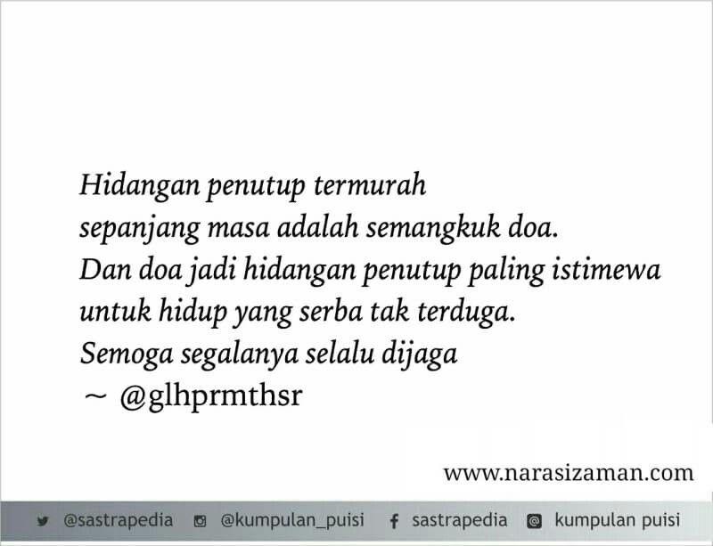 Sajak Pendek Dari Narasi Zaman Sajak Puisi Kutipan Dalam