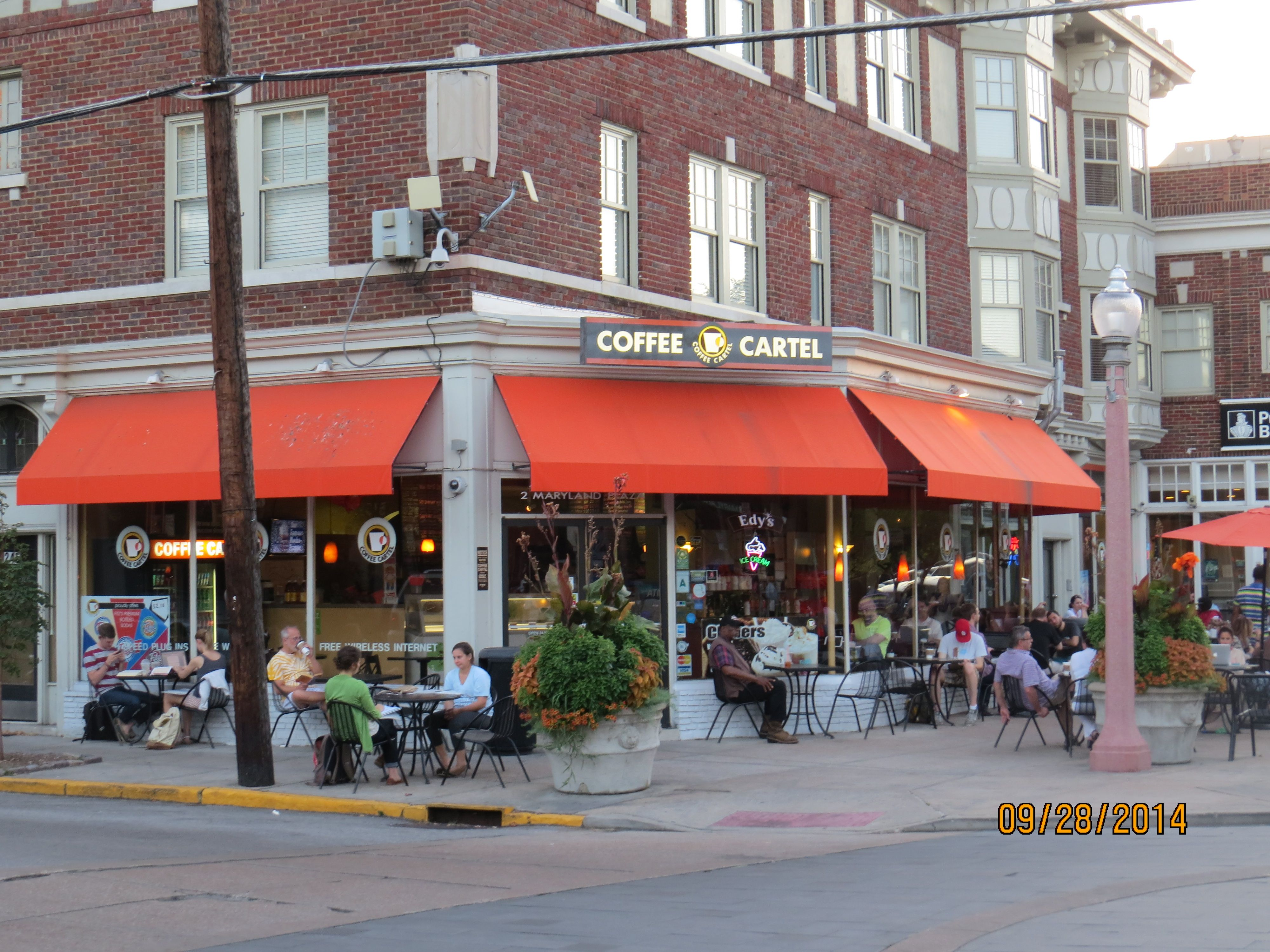 A Por Place Coffee In The Central West End St Louis Restaurants