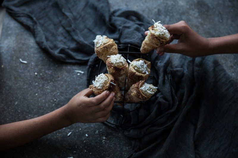 Coconut Cream Horns Plus Get Published And Win A Magimix Patissier Worth $1199 #creamhorns