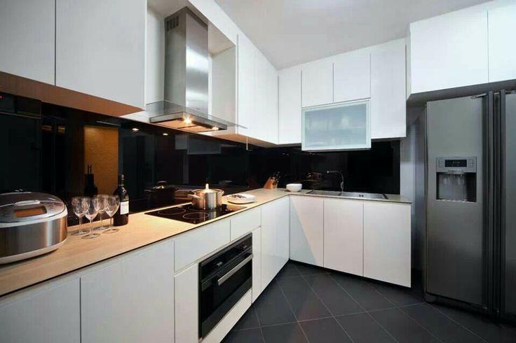 Kitchen Ideas For Hdb modern kitchen in small hdb flats today | la maison | pinterest
