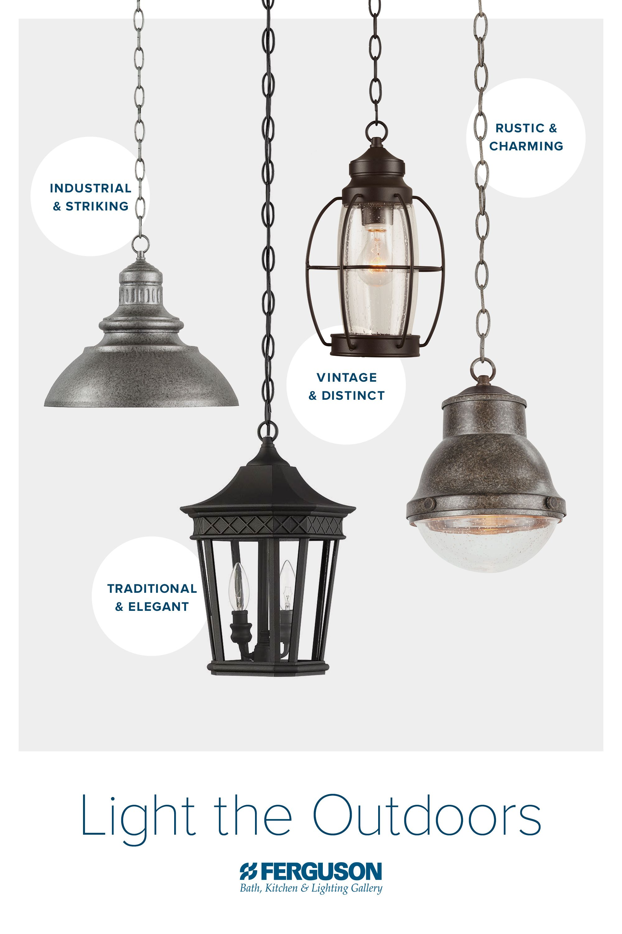 The Right Outdoor Hanging Lights Can Provide Dramatic And Instant