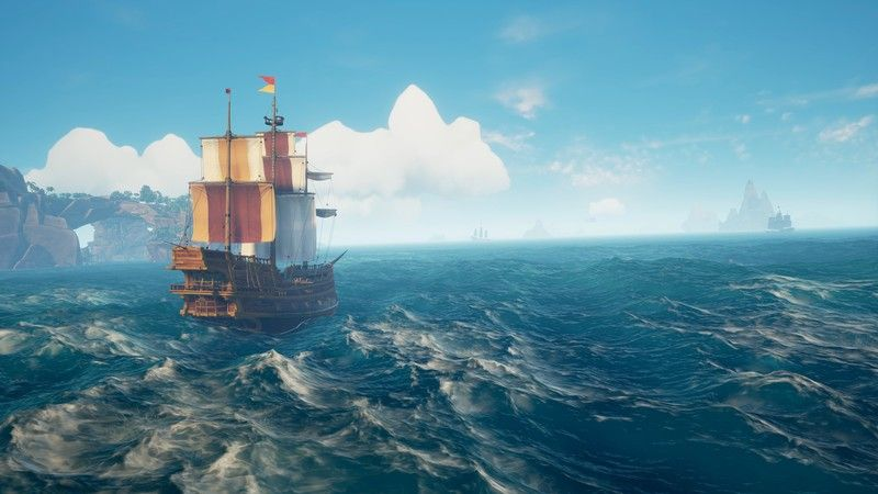 How Sea Of Thieves Will Stay Afloat Ditching Loot Crates For Pirate Pets Sea Of Thieves Sea Of Thieves Game Rise Of The Tomb