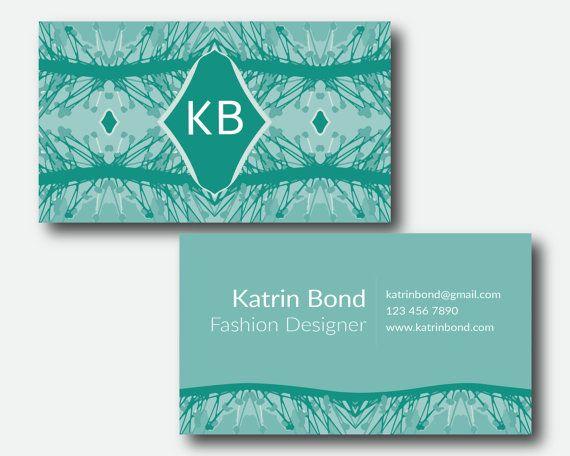 Business Card Template Calling Cards Custom Business Cards Unique - Custom business card template