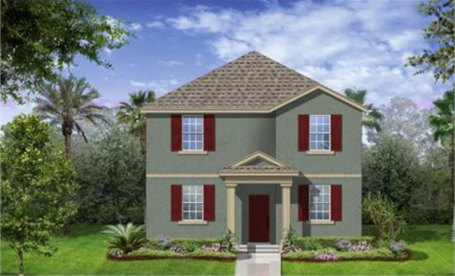 Delray Elevation A In Independence Winter Garden FL New Homes For SaleHomes