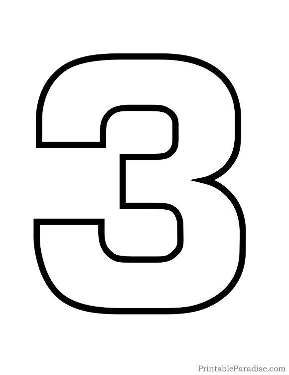 number 3 # 9