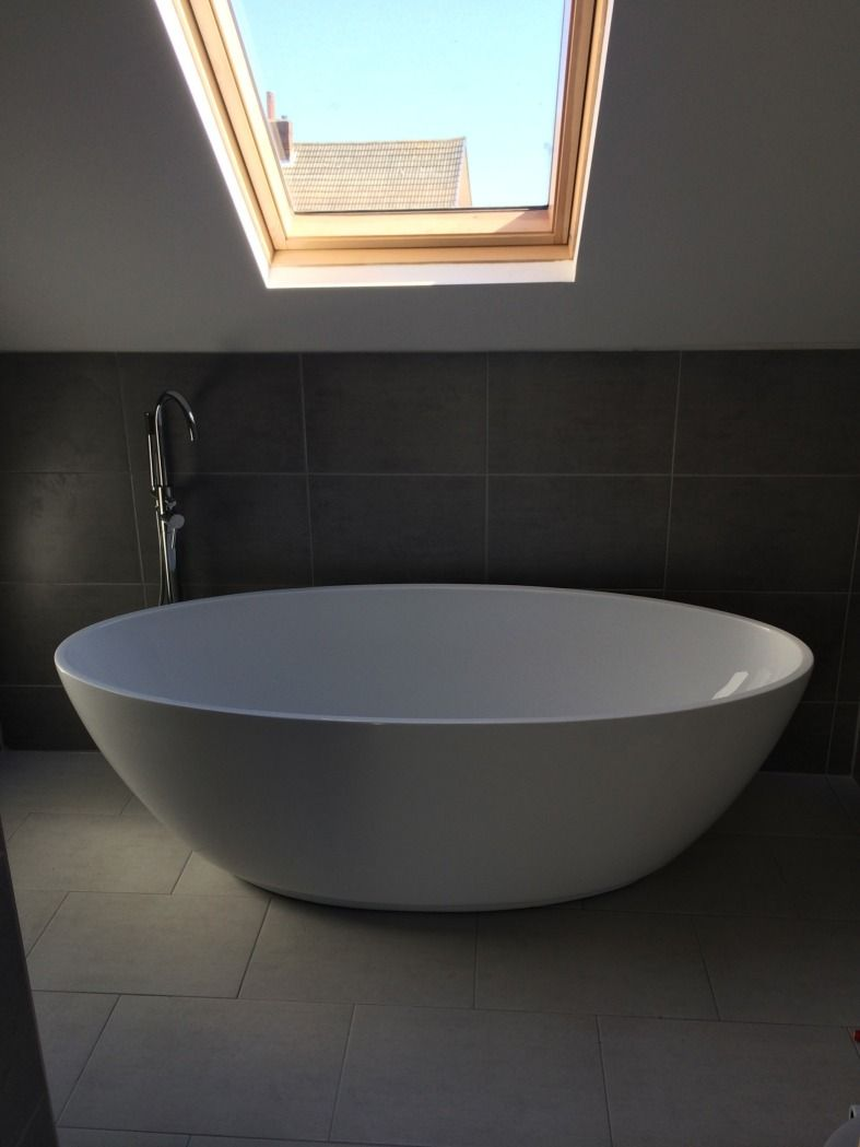 Bathroom Lights Leeds ryan from leeds has made the harrison bath the focal point of his