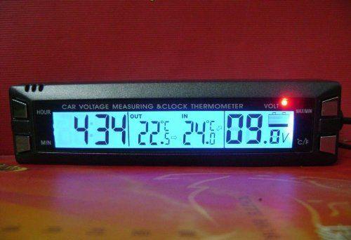 Innovic EC30 Multifunctional 4 in 1 Car Digital Clock, In