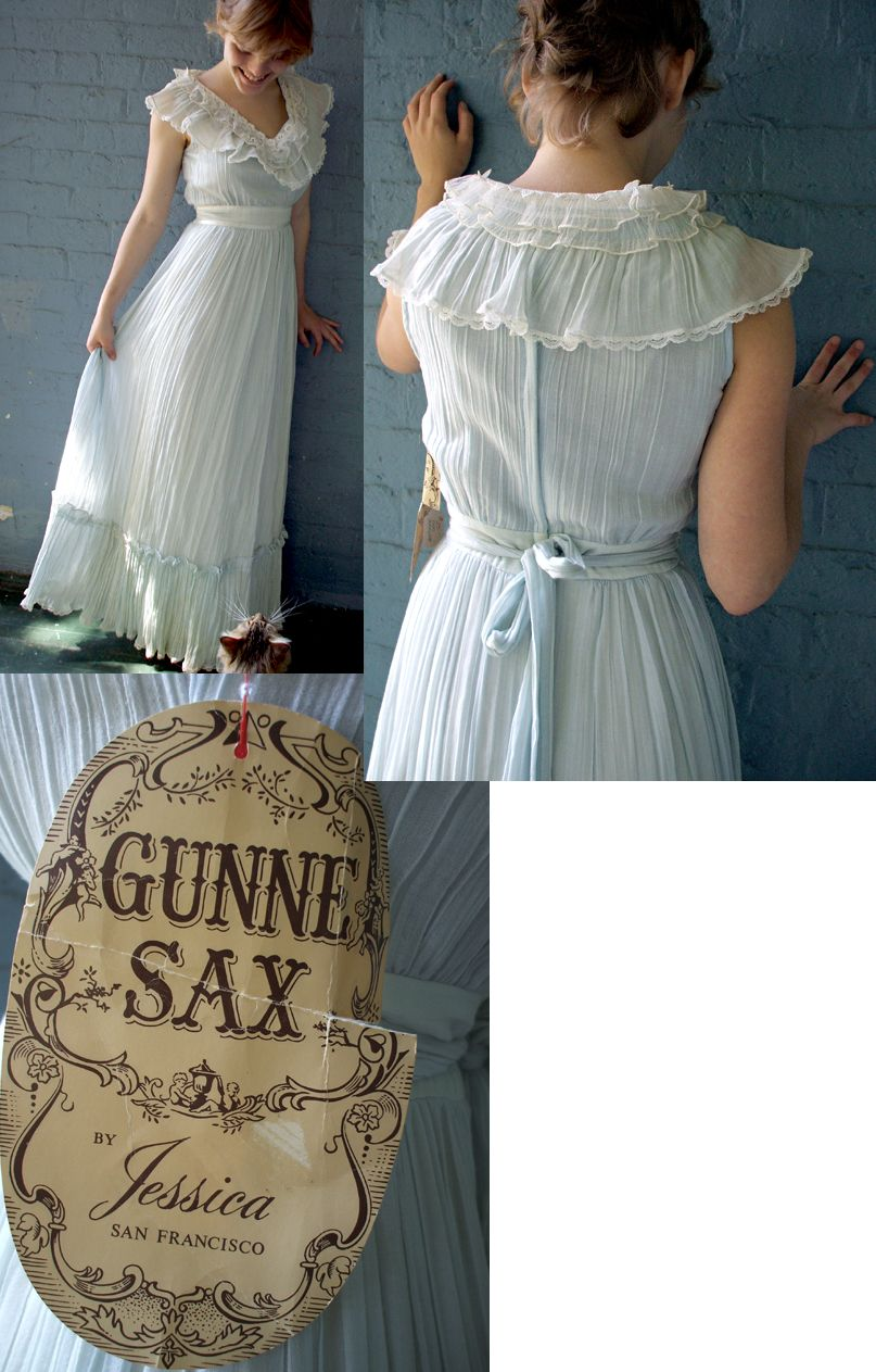 Loved these dresses. My wedding dress was a Gunne Sax. | Retro ...