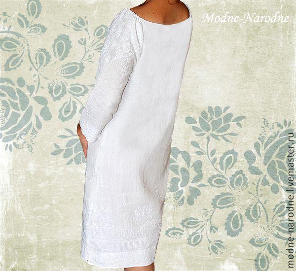 Купить льняное платье киев