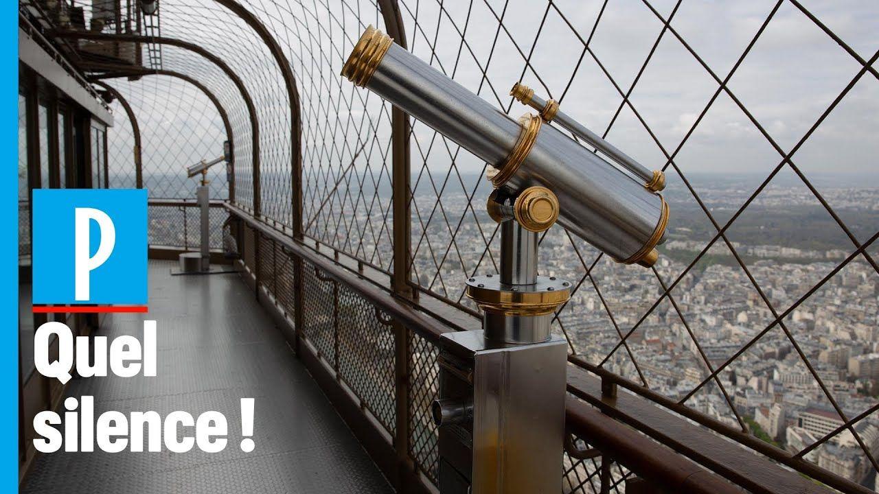 Confinement à Paris on est monté en haut de la tour