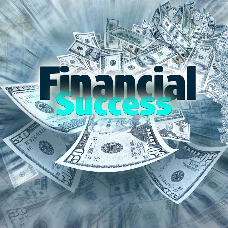 Future financial success is not a guarantee that any one