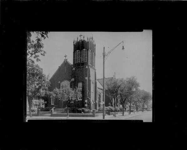 Our Lady Of Perpetual Help Catholic Church 1920s 1930s Address 5th St At 21st Ave S Mpls Mn Merged With St County Library Hennepin County Catholic Church