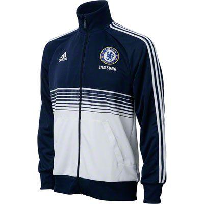 879bbdb5000bd Chelsea FC Navy adidas Soccer Anthem Jacket