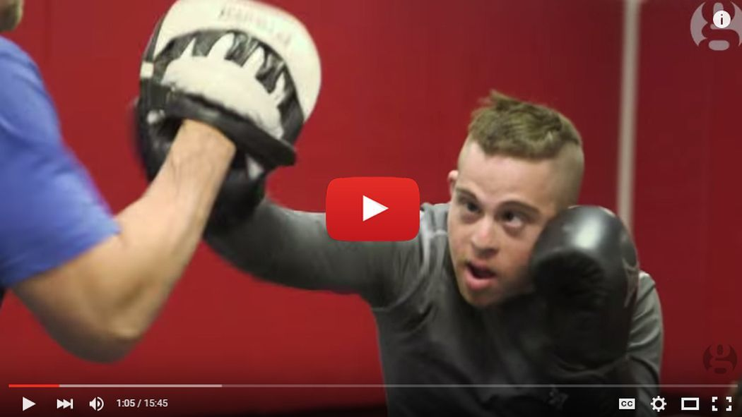 Video Mma Fighter With Down Syndrome Wants Right To Fight Mma Fighters Combat Sport Mma