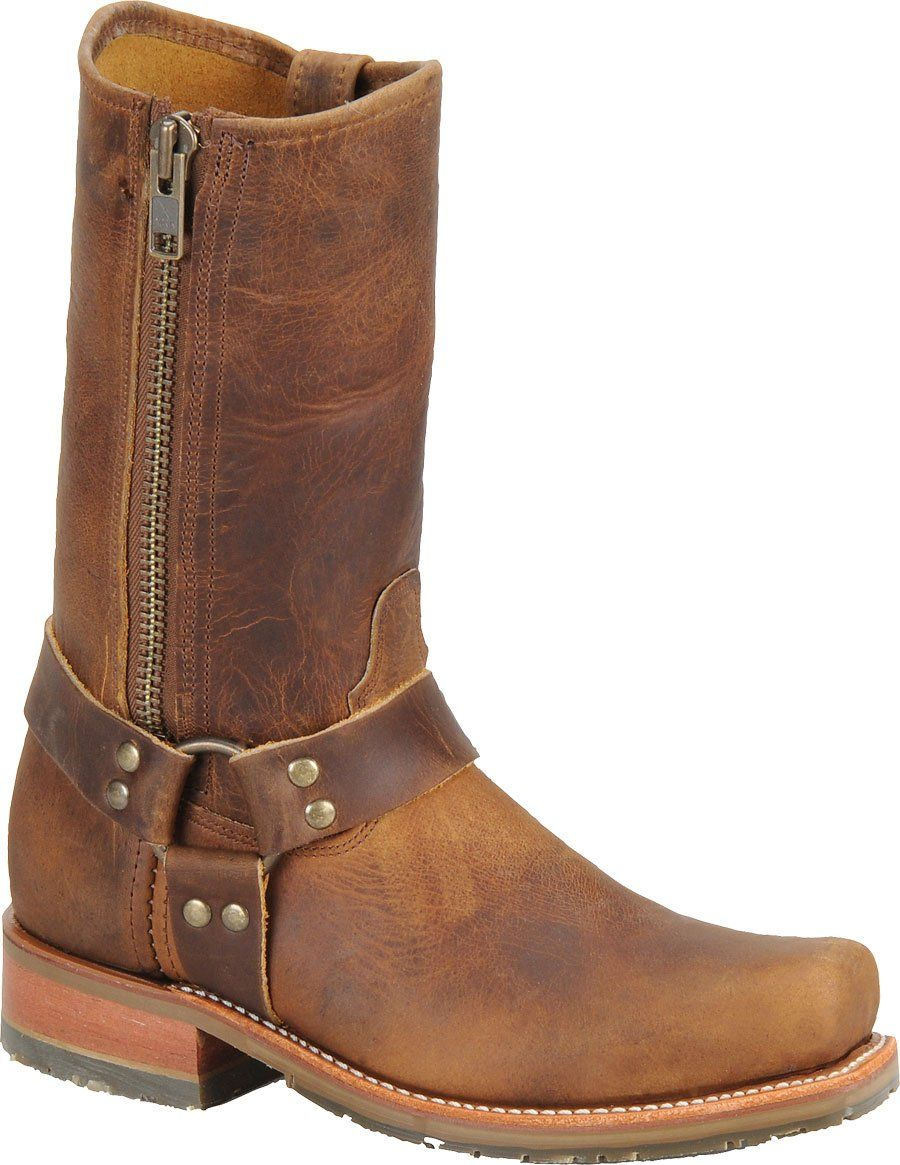 DH1601 Double H 's ICE Harness Boots - Brown   Double H Boots ...
