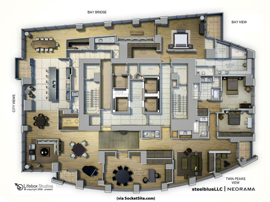 Executive office ] socketsites unofficial penthouse plan