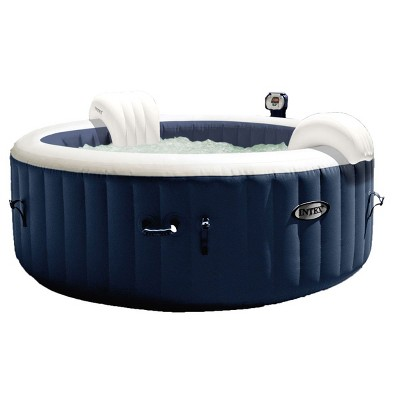 Intex Pure Spa Inflatable 4 Person Hot Tub And Battery Led Multi
