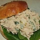 Quick Tuna Salad Recipe: Tuna, miracle whip and sweet pickle relish on soft rolls