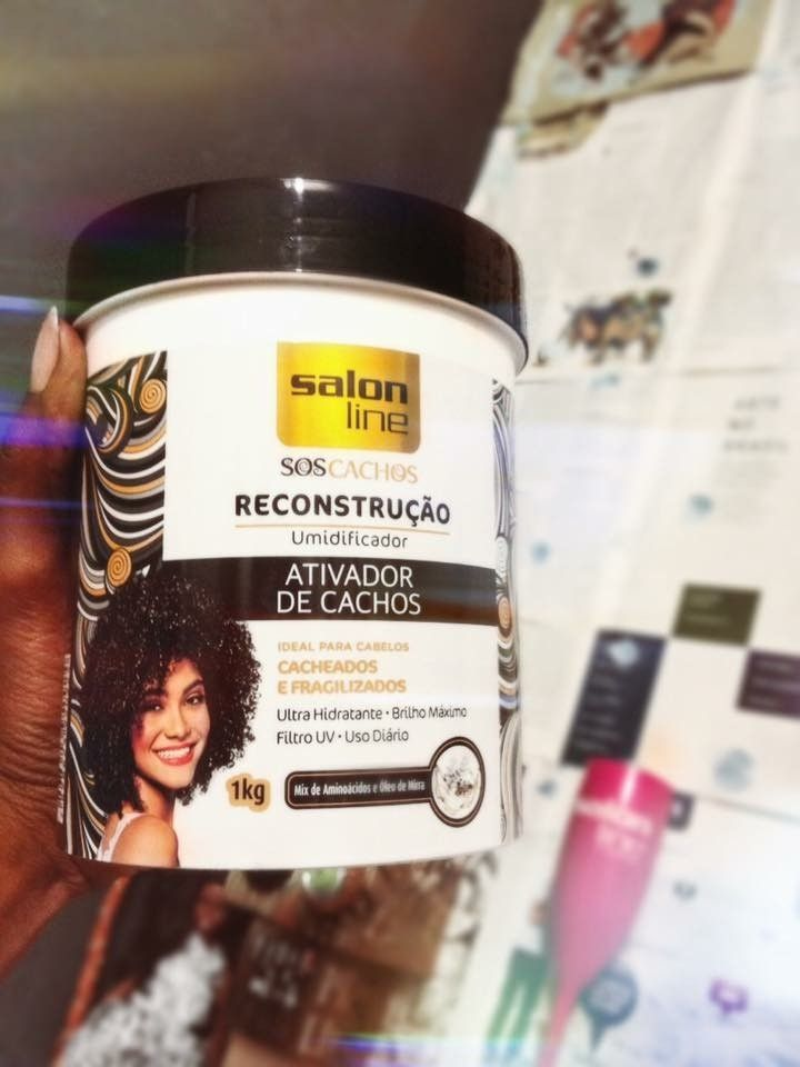 20d87ca33 ativador de cachos salon line | look em 2019 | Curly hair styles ...